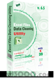 Excel Files Data Cleaning Utility screenshot